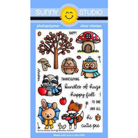 Sunny Studio Stamps - Clear Photopolymer Stamps - Woodsy Autumn
