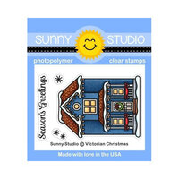 Sunny Studio Stamps - Christmas - Clear Photopolymer Stamps - Victorian Christmas