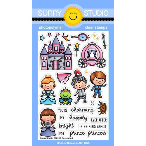 Sunny Studio Stamps - Clear Photopolymer Stamps - Enchanted