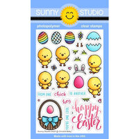 Sunny Studio Stamps - Clear Photopolymer Stamps - Chickie Baby
