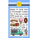 Sunny Studio Stamps - Clear Photopolymer Stamps - Cruisin Cuisine