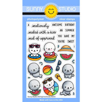 Sunny Studio Stamps - Clear Photopolymer Stamps - Sealiously Sweet