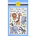 Sunny Studio Stamps - Clear Photopolymer Stamps - Savanna Safari