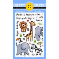 Sunny Studio Stamps - Clear Photopolymer Stamps - Savanna Safari