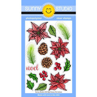 Sunny Studio Stamps - Clear Photopolymer Stamps - Classy Christmas