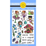 Sunny Studio Stamps - Clear Photopolymer Stamps - Garden Fairy