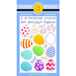 Sunny Studio Stamps - Clear Photopolymer Stamps - Eggs to Dye