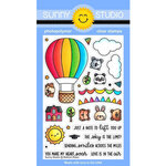 Sunny Studio Stamps - Clear Photopolymer Stamps - Balloon Rides