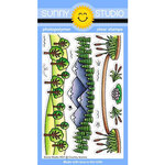 Sunny Studio Stamps - Clear Photopolymer Stamps - Country Scenes