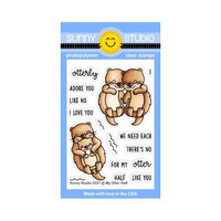 Sunny Studio Stamps - Clear Photopolymer Stamps - My Otter Half