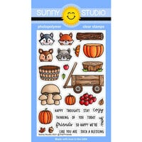 Sunny Studio Stamps - Clear Photopolymer Stamps - Fall Friends