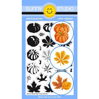 Sunny Studio Stamps - Clear Photopolymer Stamps - Crisp Autumn