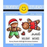Sunny Studio Stamps - Clear Photopolymer Stamps - Christmas Cookies