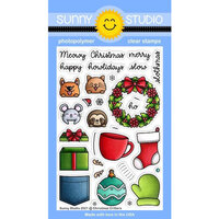 Sunny Studio Stamps - Clear Photopolymer Stamps - Christmas Critters