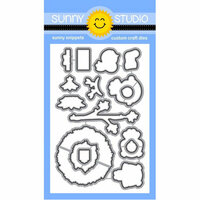 Sunny Studio Stamps - Christmas - Sunny Snippets - Dies - Happy Owlidays