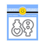 Sunny Studio Stamps - Christmas - Sunny Snippets - Dies - Eskimo Kisses