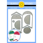Sunny Studio Stamps - Christmas - Sunny Snippets - Dies - Build-A-Tag 1