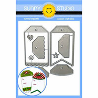 Sunny Studio Stamps - Christmas - Sunny Snippets - Dies - Build-A-Tag 2