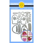 Sunny Studio Stamps - Christmas - Sunny Snippets - Dies - Warm and Cozys