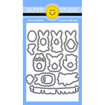 Sunny Studio Stamps - Sunny Snippets - Dies - Chubby Bunny