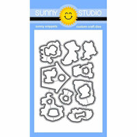 Sunny Studio Stamps - Sunny Snippets - Dies - Puppy Parents