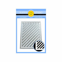 Sunny Studio Stamps - Dies - Frilly Frames - Striped