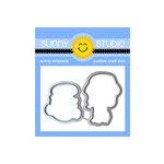 Sunny Studio Stamps - Sunny Snippets - Dies - Coastal Cuties