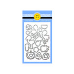 Sunny Studio Stamps - Sunny Snippets - Dies - Fabulous Flamingos