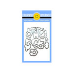 Sunny Studio Stamps - Sunny Snippets - Dies - Silly Sloths