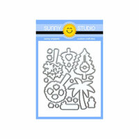 Sunny Studio Stamps - Sunny Snippets - Dies - Seasonal Trees