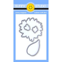 Sunny Studio Stamps - Sunny Snippets - Dies - Sunflower Fields