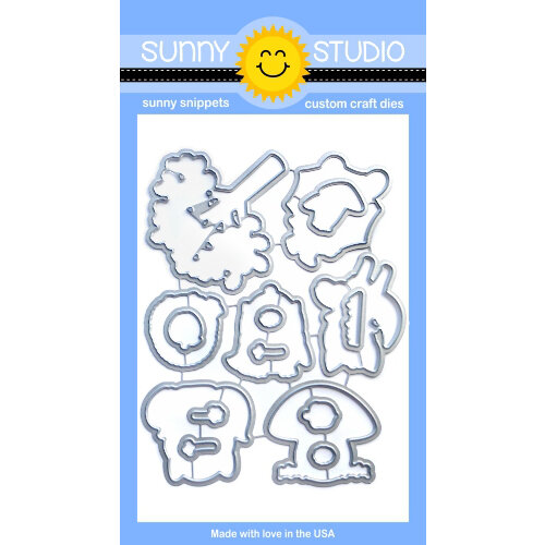 Sunny Studio Stamps - Sunny Snippets - Dies - Woodsy Autumn