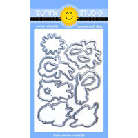 Sunny Studio Stamps - Sunny Snippets - Dies - Super Duper
