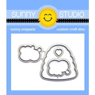 Sunny Studio Stamps - Sunny Snippets - Dies - Just Bee-cause
