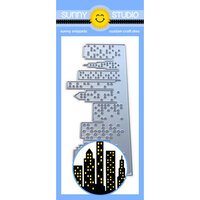 Sunny Studio Stamps - Sunny Snippets - Dies - Cityscape Border