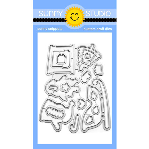 Sunny Studio Stamps - Christmas - Sunny Snippets - Dies - Santa Claus Lane