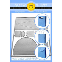 Sunny Studio Stamps - Sunny Snippets - Dies - Sweet Treat Bag
