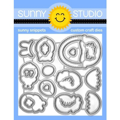 Sunny Studio Stamps - Craft Dies - Chickie Baby