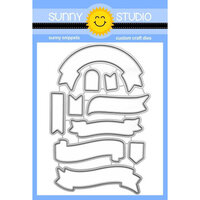Sunny Studio Stamps - Craft Dies - Banner Basics