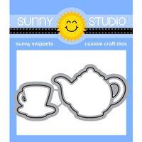 Sunny Studio Stamps - Craft Dies - Tea-riffic