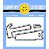 Sunny Studio Stamps - Craft Dies - Tool Time