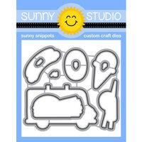 Sunny Studio Stamps - Sunny Snippets - Dies - Cruisin Cuisine