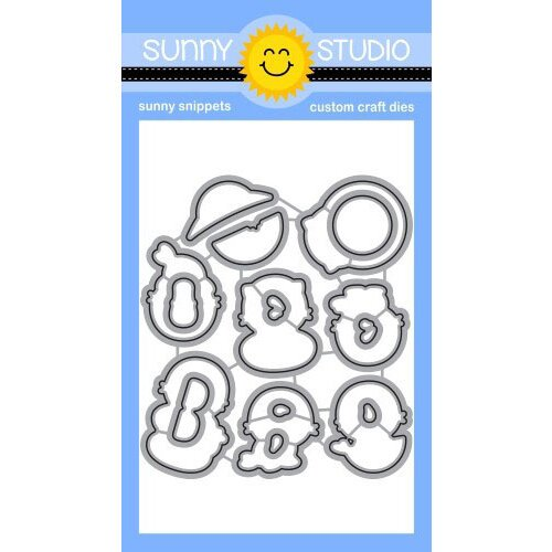 Sunny Studio Stamps - Craft Dies - Sealiously Sweet