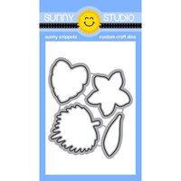 Sunny Studio Stamps - Sunny Snippets - Dies - Radiant Plumeria