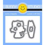 Sunny Studio Stamps - Craft Dies - Grad Cat