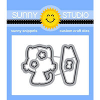 Sunny Studio Stamps - Craft Dies - Grad Cat