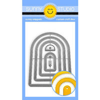 Sunny Studio Stamps - Craft Dies - Stitched Arch