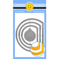 Sunny Studio Stamps - Craft Dies - Stitched Semi Circle