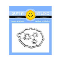 Sunny Studio Stamps - Sunny Snippets - Dies - Hedgey Holidays Craft Dies