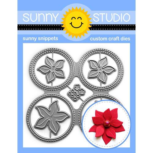 Sunny Studio Stamps - Craft Dies - Window Quad Circle
